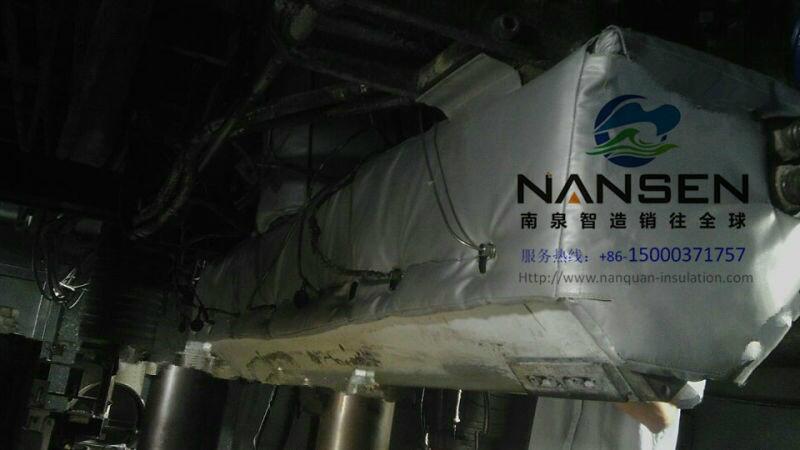 设备防冻凝可拆装式软保温套 4