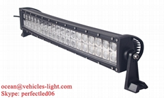 20'' Double row Epistar 120W curved light bar