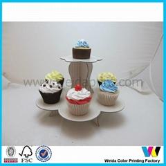 纸质蛋糕架