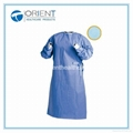 Disposable PP Nonwoven Isolation Gown Elastic Cuff 1