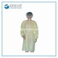 Disposable PP Nonwoven Isolation Gown Elastic Cuff 2