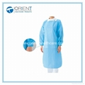 Disposable PP Nonwoven Isolation Gown Elastic Cuff 3