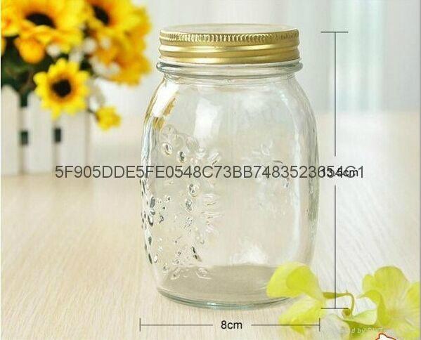 雕花玻璃瓶 1