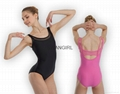 Adult Camisole Ballet leotards with mesh