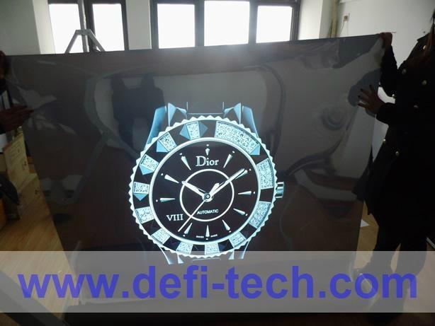 rear projection film(white,grey,dark grey,transparent,black,mirror) 5