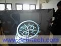 rear projection film(white,grey,dark grey,transparent,black,mirror) 4