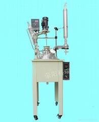 單層玻璃反應釜30L