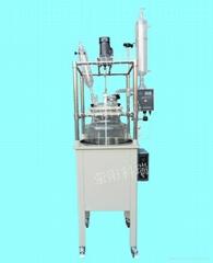 單層玻璃反應釜100L