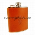 Stainless steel hip flask 2