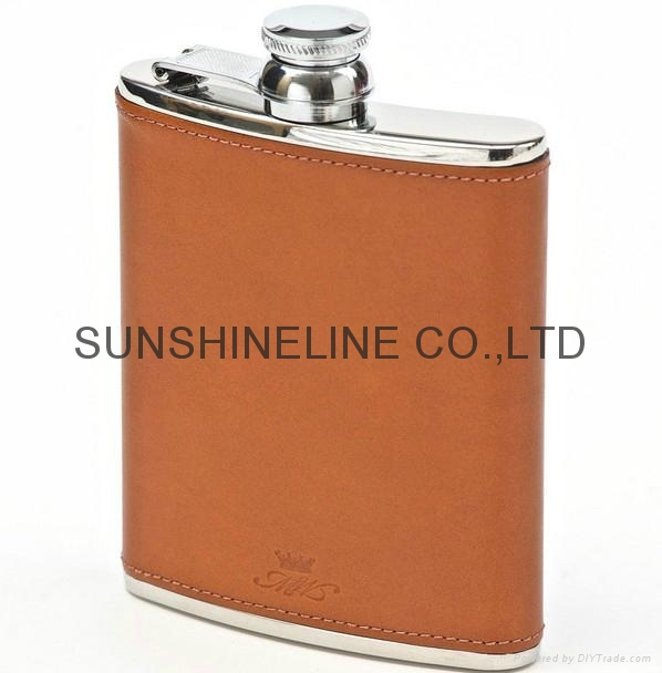 Stainless steel hip flask 4