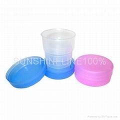 塑料折叠杯