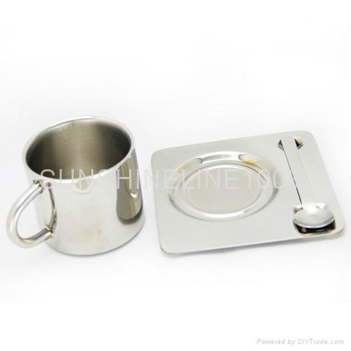 不锈钢咖啡杯 1