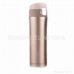 Double wall stainless steel vacuum insulation cup