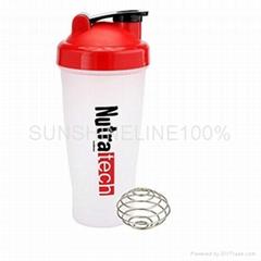 plastic protein shaker bottle shaker cup