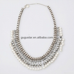 fashion hand made pearl necklace