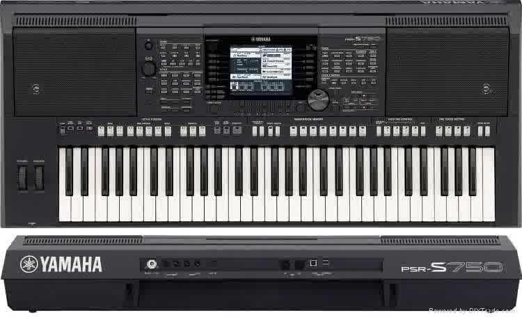 雅马哈电子琴PSR-S750 1