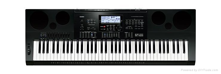 卡西欧电子琴WK-7600 1