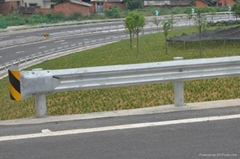Hot dip galvanized highway guardrail with competitive price