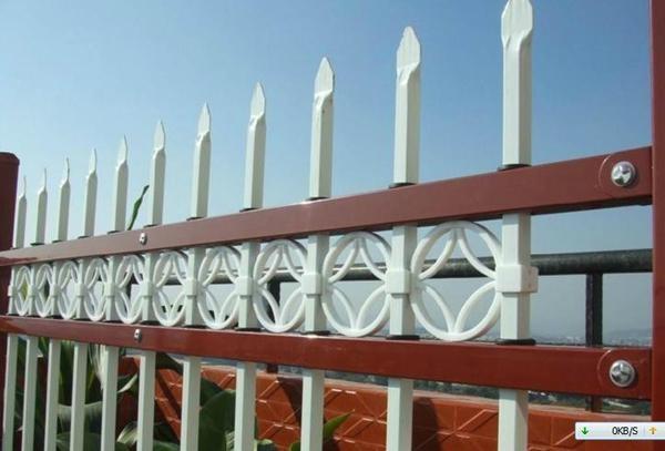 加厚方管铁艺护栏围栏隔离栅栏 1