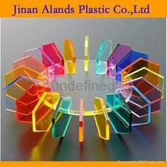 colored,transparent PMMA acrylic sheet  plexiglass sheet