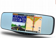factory price rear view mirror with gps,bluetooth,vedio recorder...