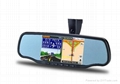 """5"""" rear view mirror with gps,bluetooth"""