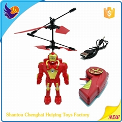 2015 newly 2 channel rc flying robot helicopter
