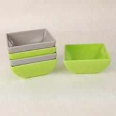 Melamine storage bowl with cover
