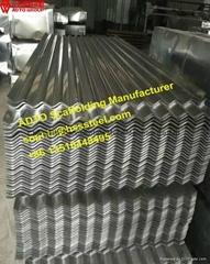HDG Corrugated Sheets 8' 10' 12' for Sidewalk sheds System