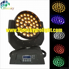 led moving head wash light with zoom