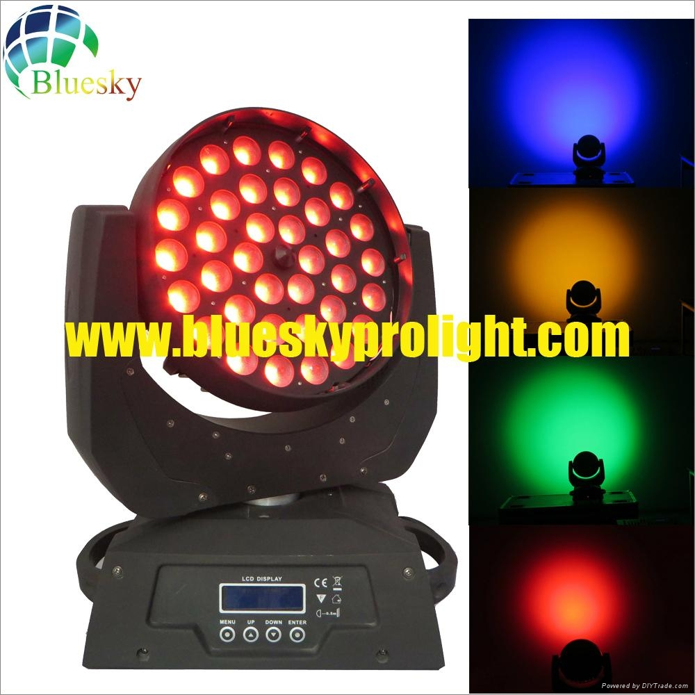 led moving head wash light with zoom 4