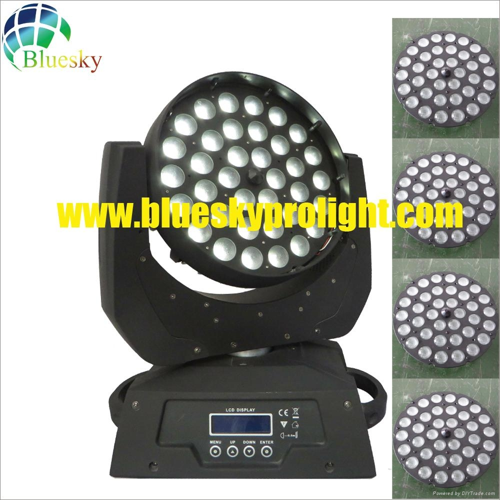 led moving head wash light with zoom 5