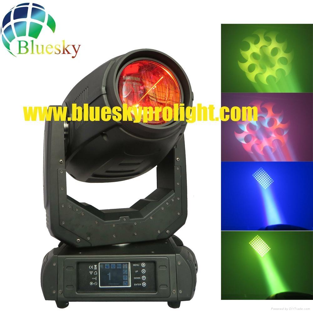 2015 New 3D effect 280w beam spot wash 3in1 sharpy light 2