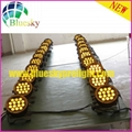 Flat Outdoor IP65 RGBWA 5IN1 slim led par can 3