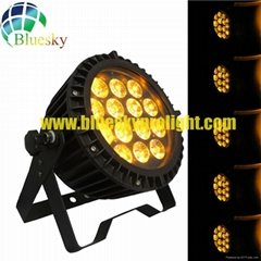 Flat Outdoor IP65 RGBWA 5IN1 slim led par can