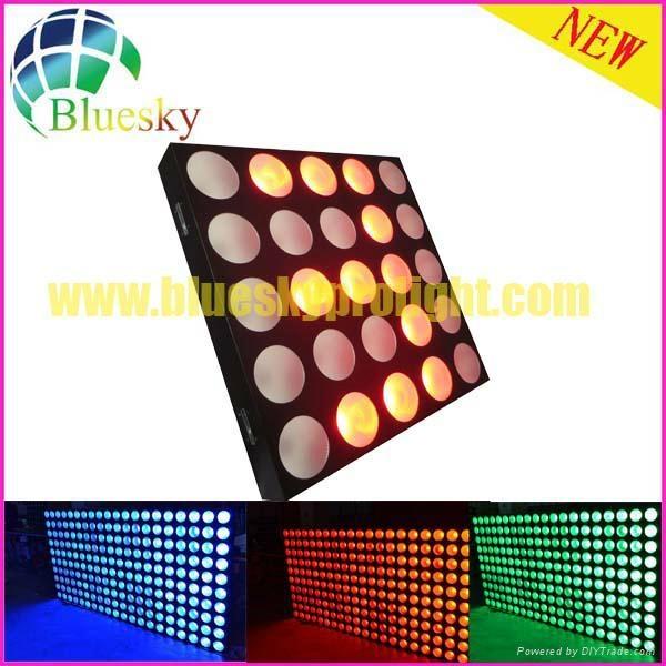 Stage blinder effect 25pcs led matrix panel light 2