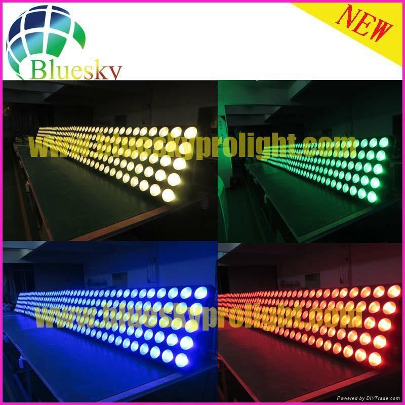 Stage blinder effect 25pcs led matrix panel light 5