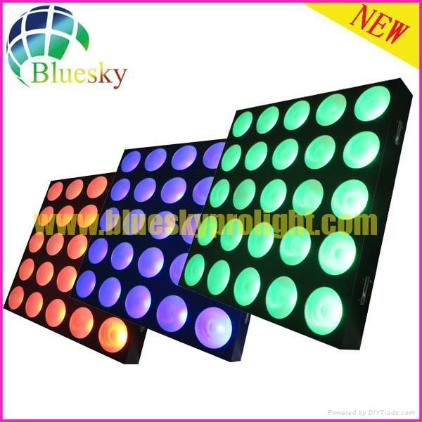 Stage blinder effect 25pcs led matrix panel light 3