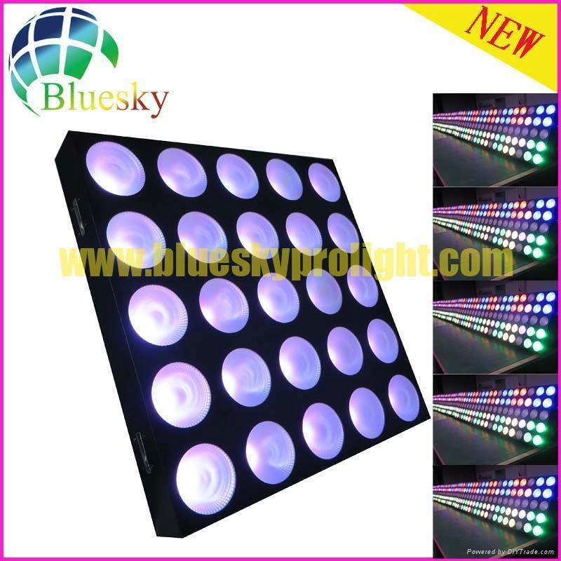Stage blinder effect 25pcs led matrix panel light 1