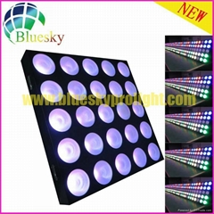 Stage blinder effect 25pcs led matrix panel light