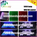2015 New 3D  5050 lamp Wifi control Wedding led dance floor 2