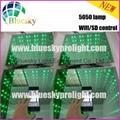 2015 New 3D  5050 lamp Wifi control Wedding led dance floor 3