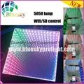 2015 New 3D  5050 lamp Wifi control Wedding led dance floor 4