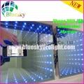 2015 New 3D  5050 lamp Wifi control Wedding led dance floor 5