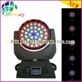 Touch Screen RGBW 4in1 36*10w zoom led