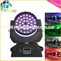 Touch Screen RGBW 4in1 36*10w zoom led moving washer light 2