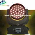 Touch Screen RGBW 4in1 36*10w zoom led moving washer light 4