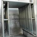 scaffolding used walk through frame