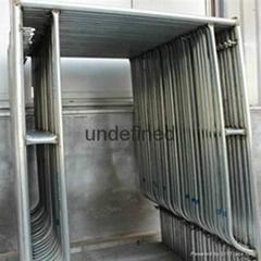 scaffolding used walk through frame system