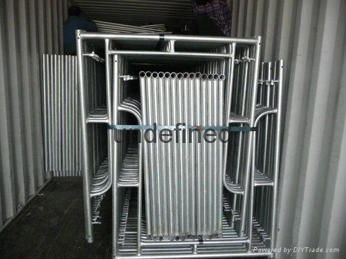 scaffolding used ladder frame system 3